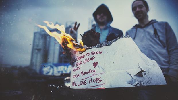 BrewDog Burn Letter
